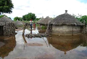 The floods in Namibia this year affected 20,000 people