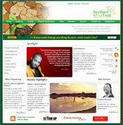 Southern Africa Trust website home page